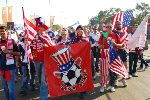 U.S._Fan_Club,_Sam_s_Army,_Walks_to_U.S._vs._Algeria_World_Cup_Match
