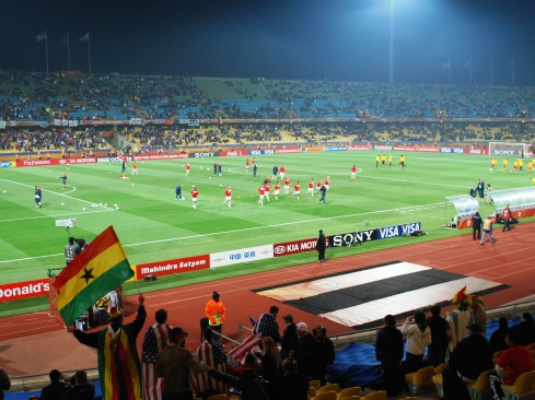 U.S._Plays_Ghana_in_World_Cup_Match
