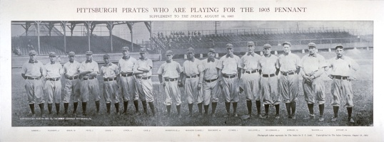 1905_Pittsburgh_Pirates_lineup